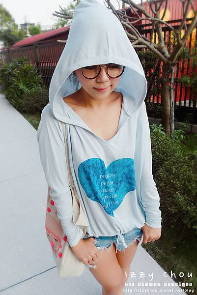 Tongmeng童夢 女孩的內心世界極致柔潤手感連帽上衣