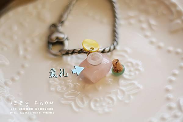 Mahoya靈氣精油 夢幻櫻花粉晶小四角限量精油瓶