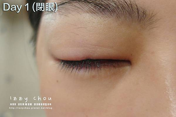 紋繡眼線 復原期