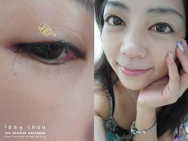 紋繡眼線 兩年後