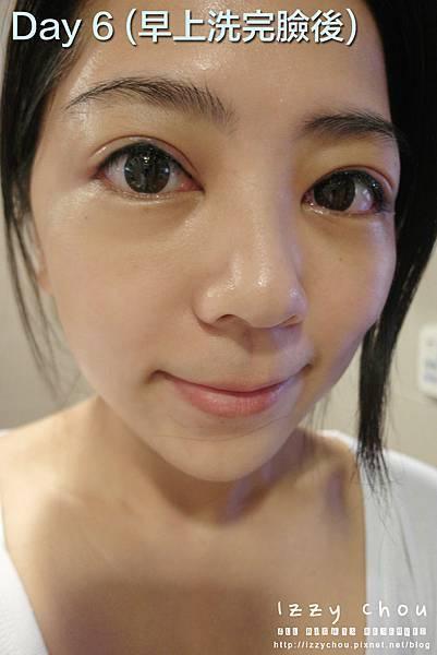紋繡眼線 第六天