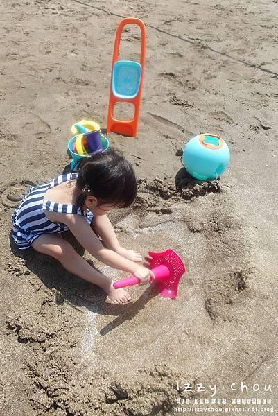 LAVIDA 比利時Quut戲水玩沙組 多功能耙沙漏斗