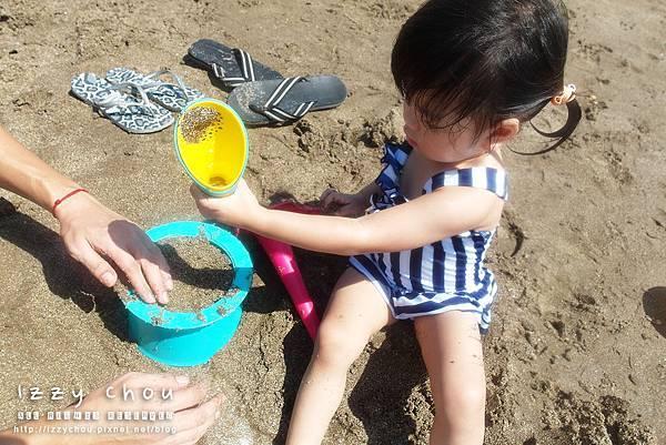 LAVIDA 比利時Quut戲水玩沙組 三層沙堡模 多功能漏斗刨杯