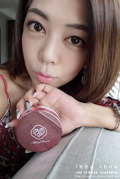 Miss Hana花娜小姐金屬氣墊粉餅