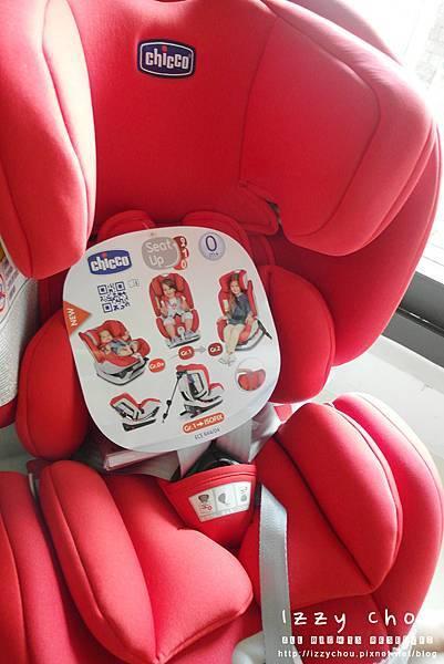 chicco seat up 012 isofix兒童安全座椅 開箱