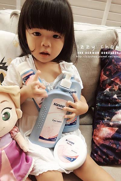 SANOSAN珊諾 寶寶沐浴護膚品推薦
