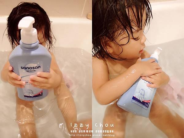 SANOSAN珊諾 寶寶洗髮沐浴露