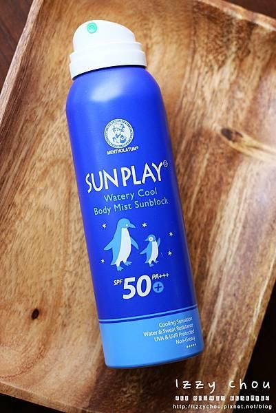 曼秀雷敦 SUN PLAY防曬噴霧-酷涼清爽型