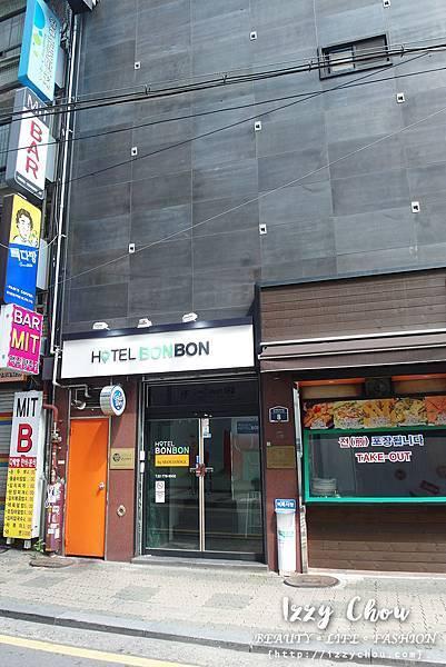 Hotel Bon Bon 大門