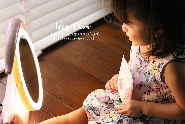 YUWA夢羽 LED化妝鏡燈 可調色 放大七倍