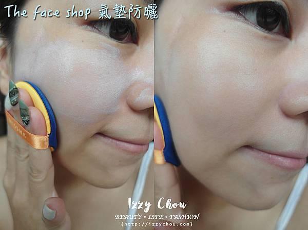 The face shop 迪士尼聯名 氣墊防曬