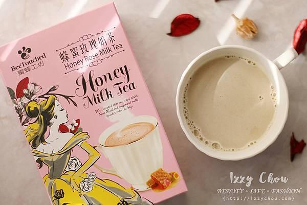 蜜蜂工坊 迪士尼公主系列-蜂蜜玫瑰奶茶 美女與野獸 貝兒