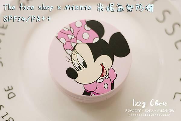 the face shop 兒童氣墊防曬 米妮