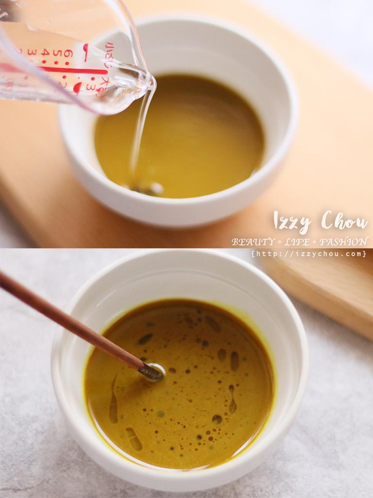 紅薑黃芝麻醬 調理