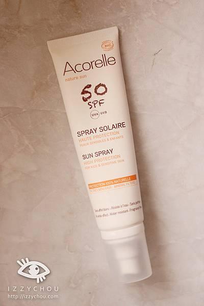 OuiOrganic唯有機  Acorelle日光意境 全護植萃防曬乳SPF50
