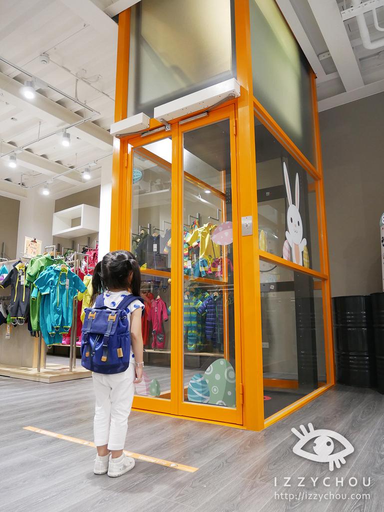 JAKO-O 內湖旗艦店 室內電梯