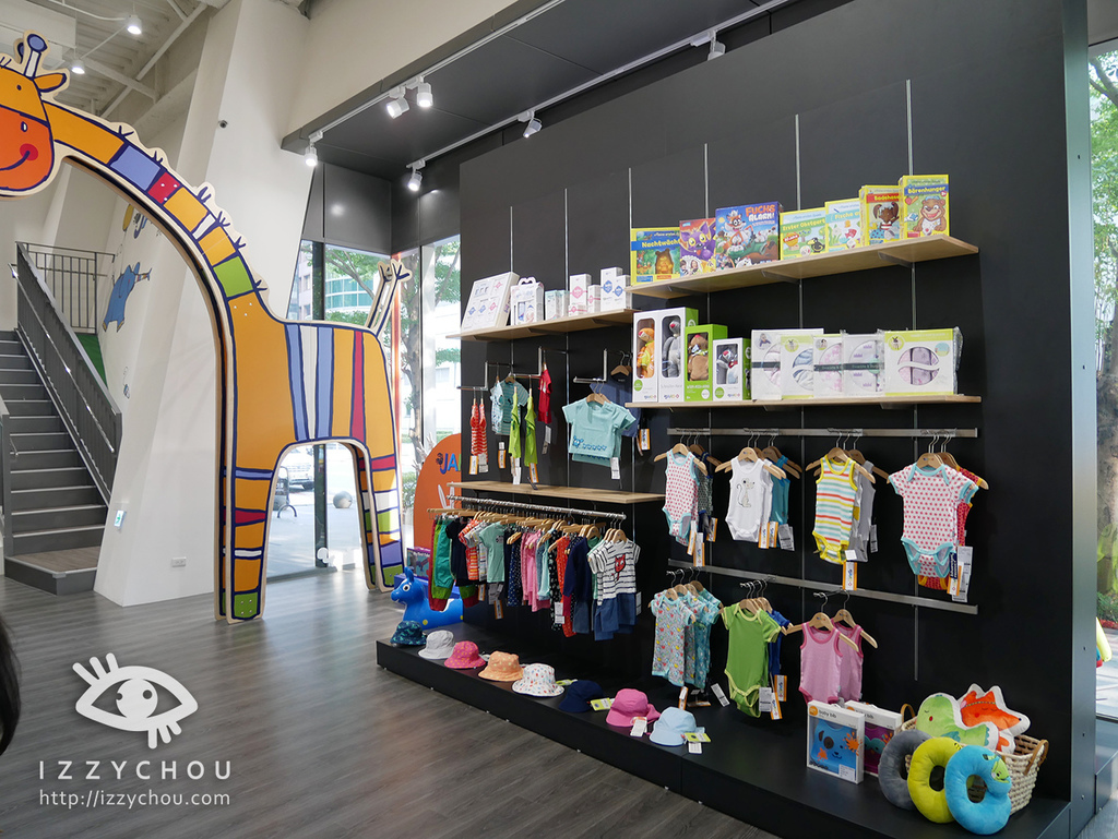 JAKO-O 內湖旗艦店 一樓展示區