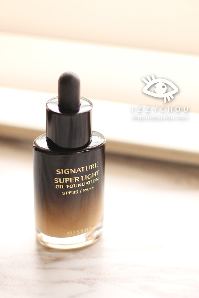 MISSHA Super light oil foundation 謎尚 精華粉底液