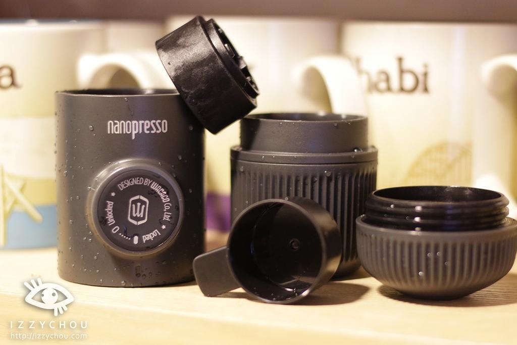 Wacaco nanopresso 迷你濃縮咖啡機 心得 實際操作