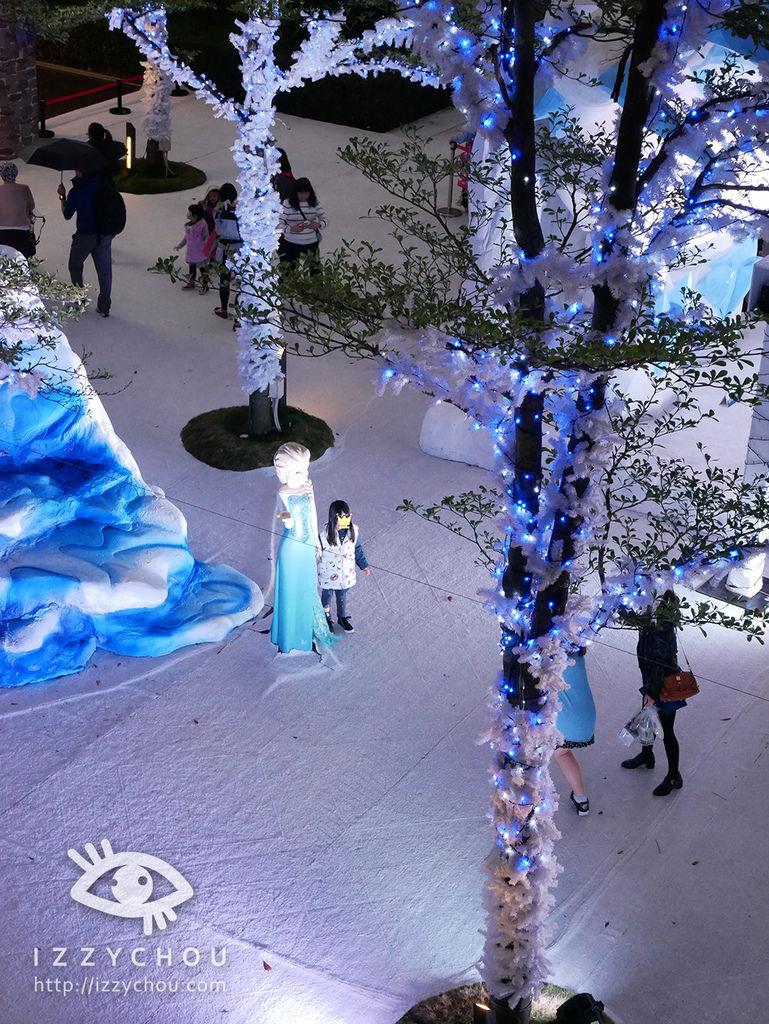 2017迪士尼冰雪奇緣嘉年華 晚上
