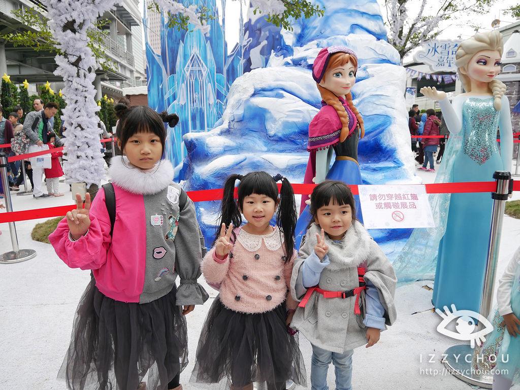 2017迪士尼冰雪奇緣嘉年華 冰雪森林
