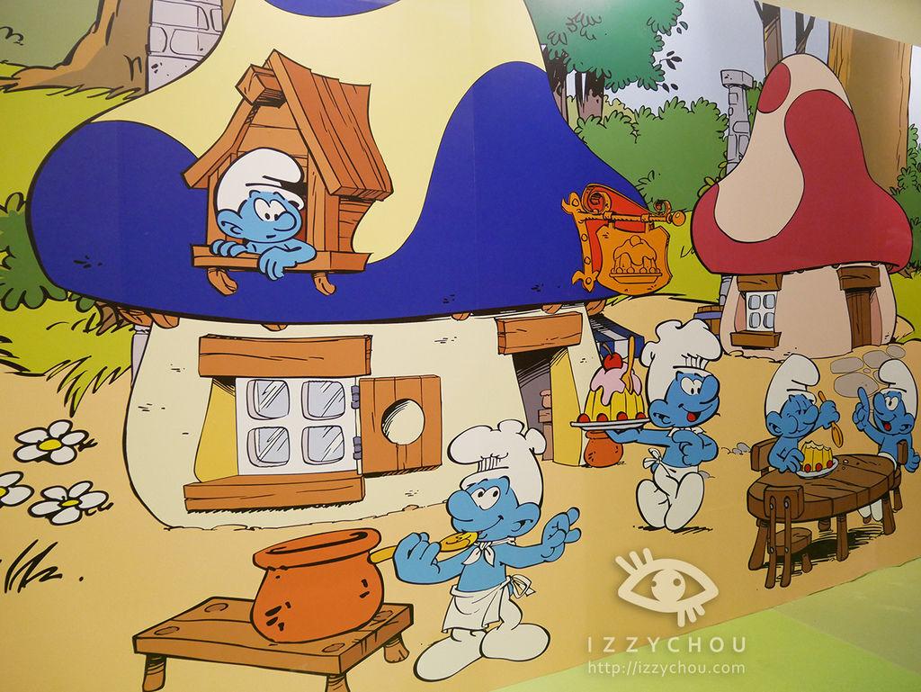 藍色小精靈 愛在17特展