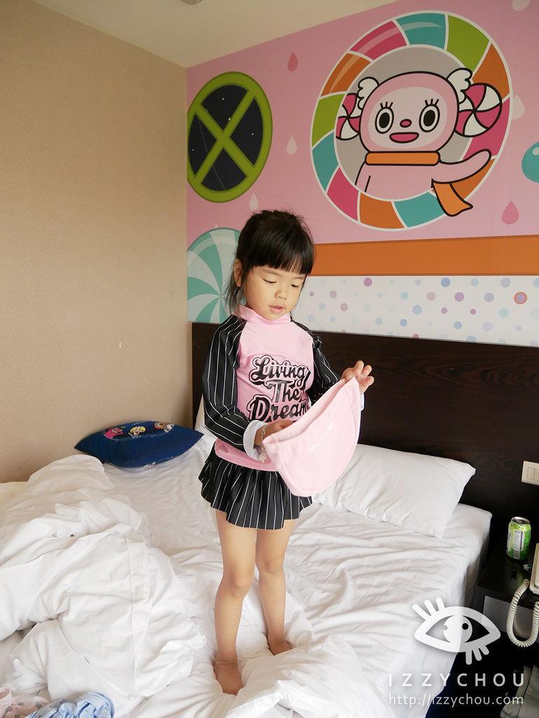 親子飯店推薦 煙波大飯店 卡樂次元 兒童戲水