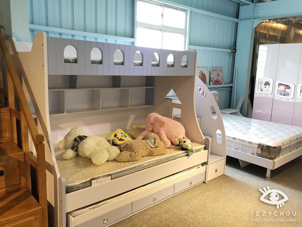 兒童房設計 雙層床組