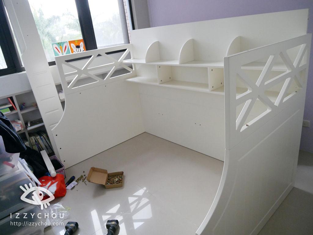 兒童房設計 雙層床組 安裝