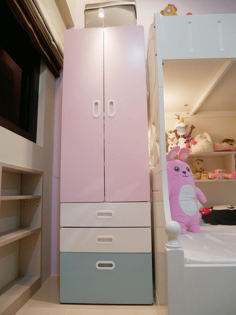 兒童房設計 IKEA 兒童衣櫃 組裝DIY