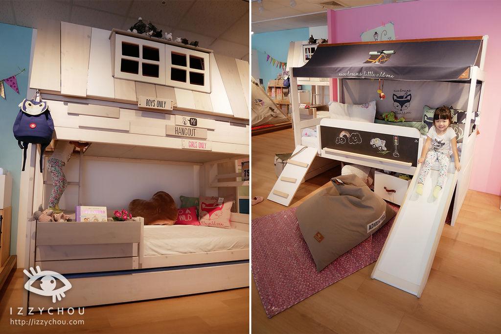 兒童房設計 雙層床組 FLEXA