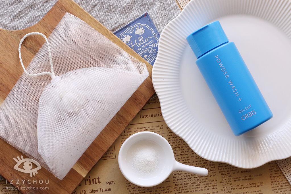 洗臉粉推薦 ORBIS雙重酵素潔顏粉