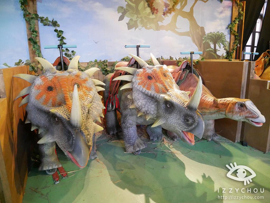 侏羅紀X恐龍樂園 騎恐龍