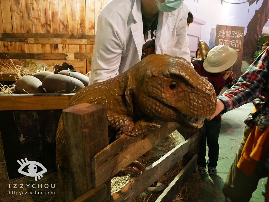 侏羅紀X恐龍樂園 恐龍孵育室