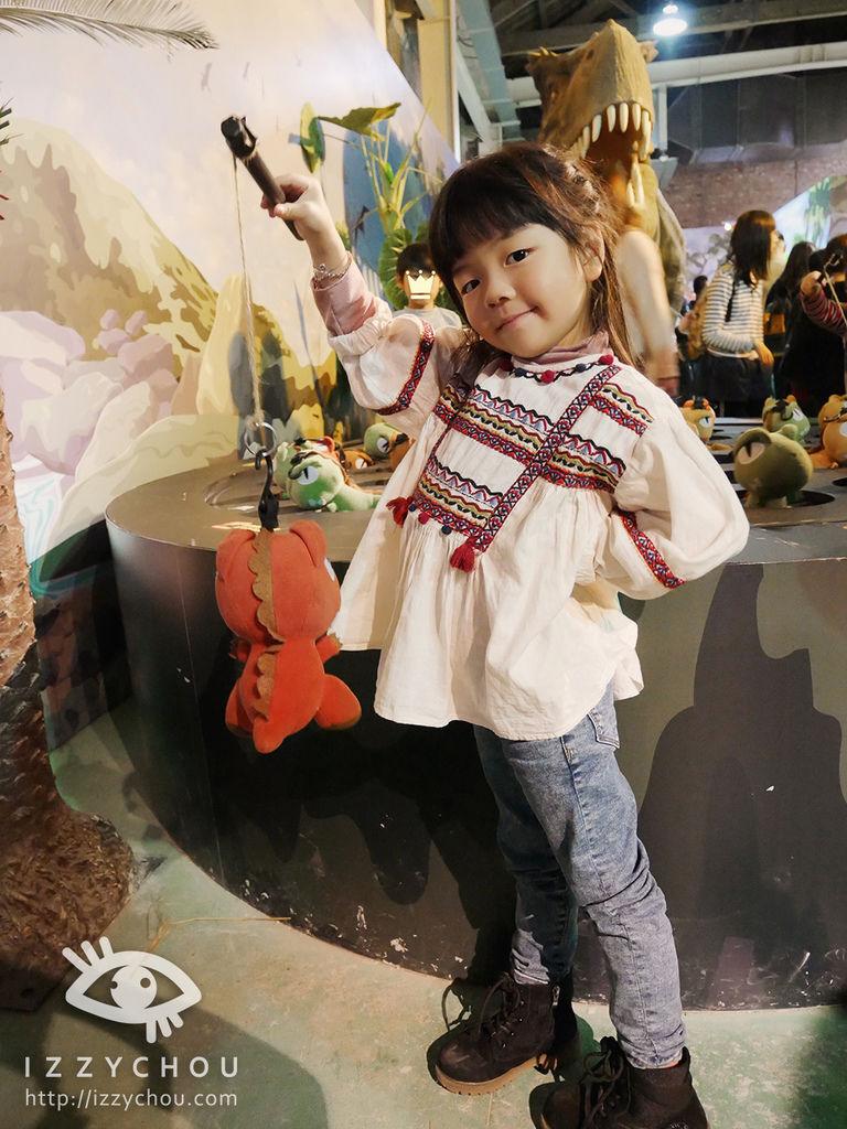 侏羅紀X恐龍樂園 釣恐龍轉盤