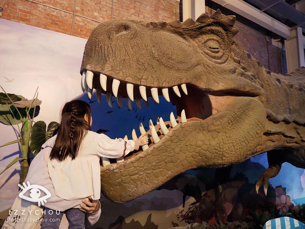 侏羅紀X恐龍樂園 會動的恐龍展