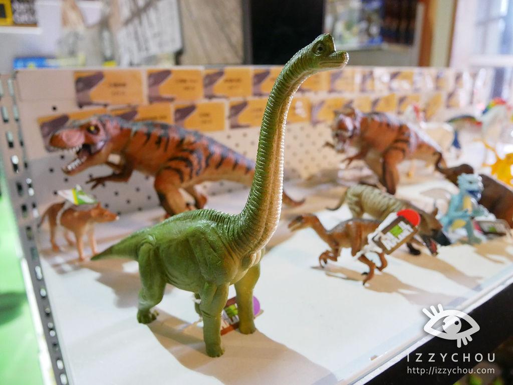 侏羅紀X恐龍樂園 紀念品區