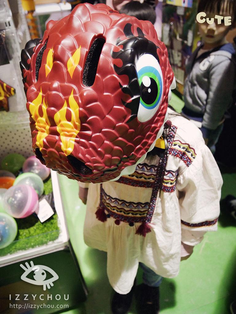 侏羅紀X恐龍樂園 恐龍安全帽