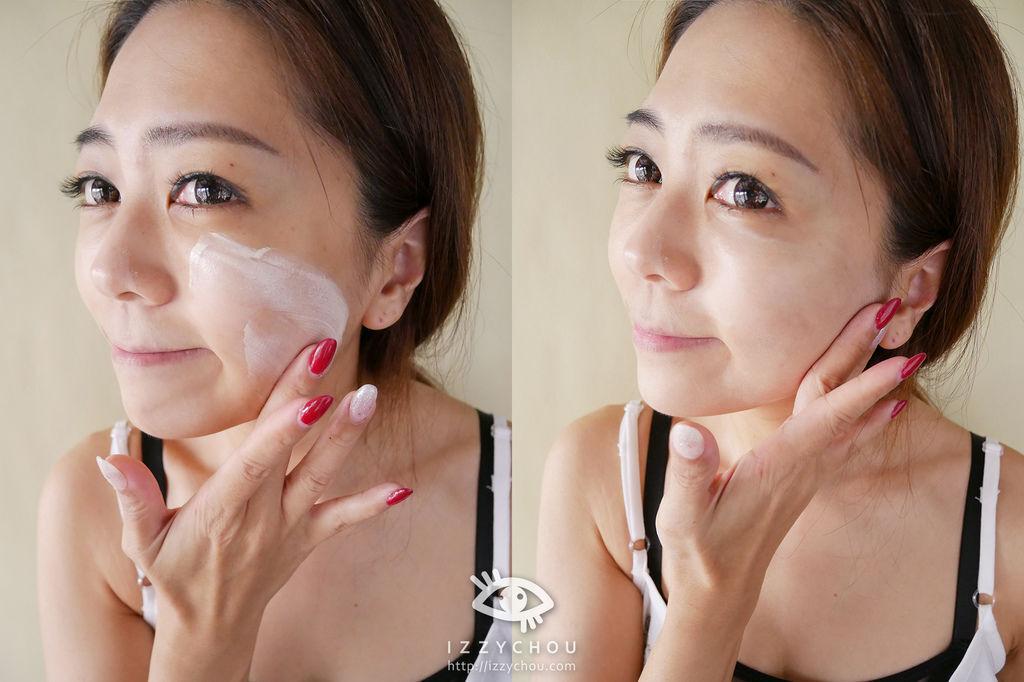 高係數潤色隔離霜評比 DR.CINK達特聖克 無瑕白透光臉部防曬乳