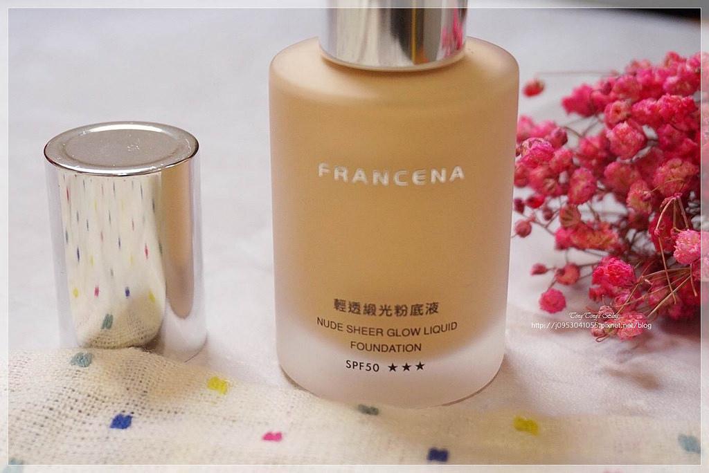 FRANCENA 輕透緞光粉底液 (6)