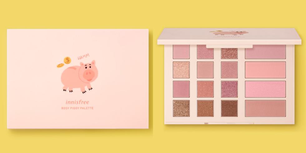 innisfreexDisney限定火腿豬眼盤(Rosy piggy palette ).png