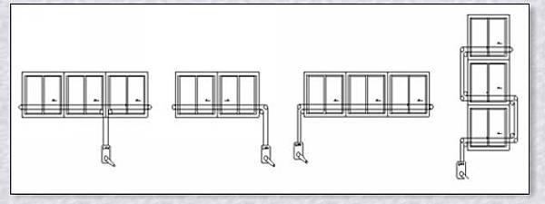 安檢消防.橫拉式手動安裝實例(A-1)系列