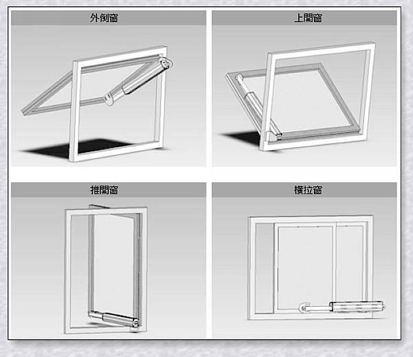 安檢消防.電動螺桿拉式.自然排煙系統.各種窗型安裝實例(A-4)系列