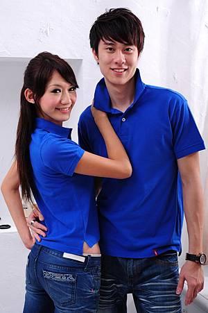 Polo衫-空軍藍