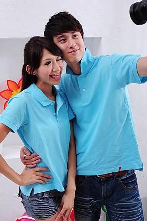 Polo衫-淺水藍