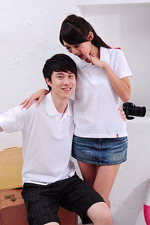 Polo衫-白色