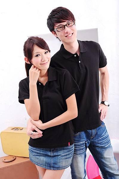 Polo衫-黑色