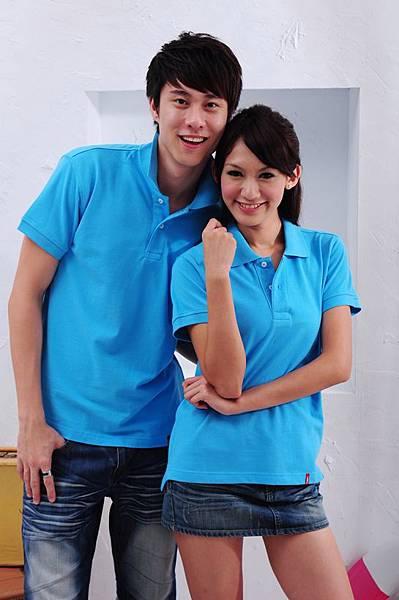 Polo衫-土耳其藍