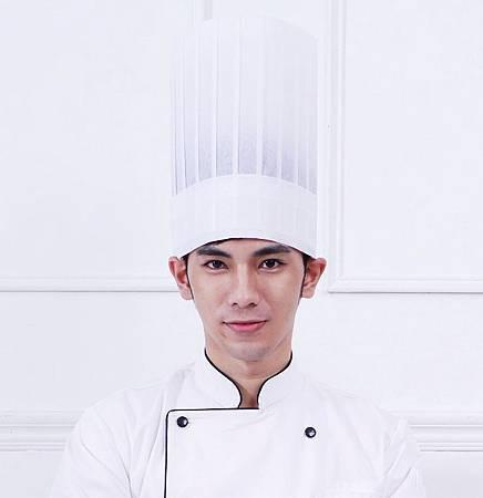 廚師不織布高帽$35