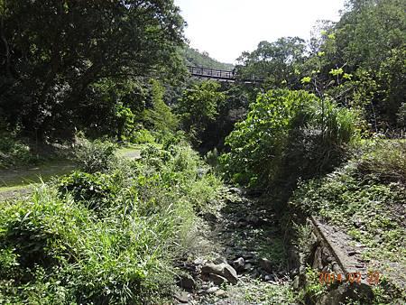 雙流枯乾的小溪.JPG